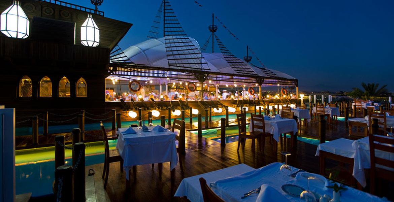Kamelya Collection K Club - кораб ресторант