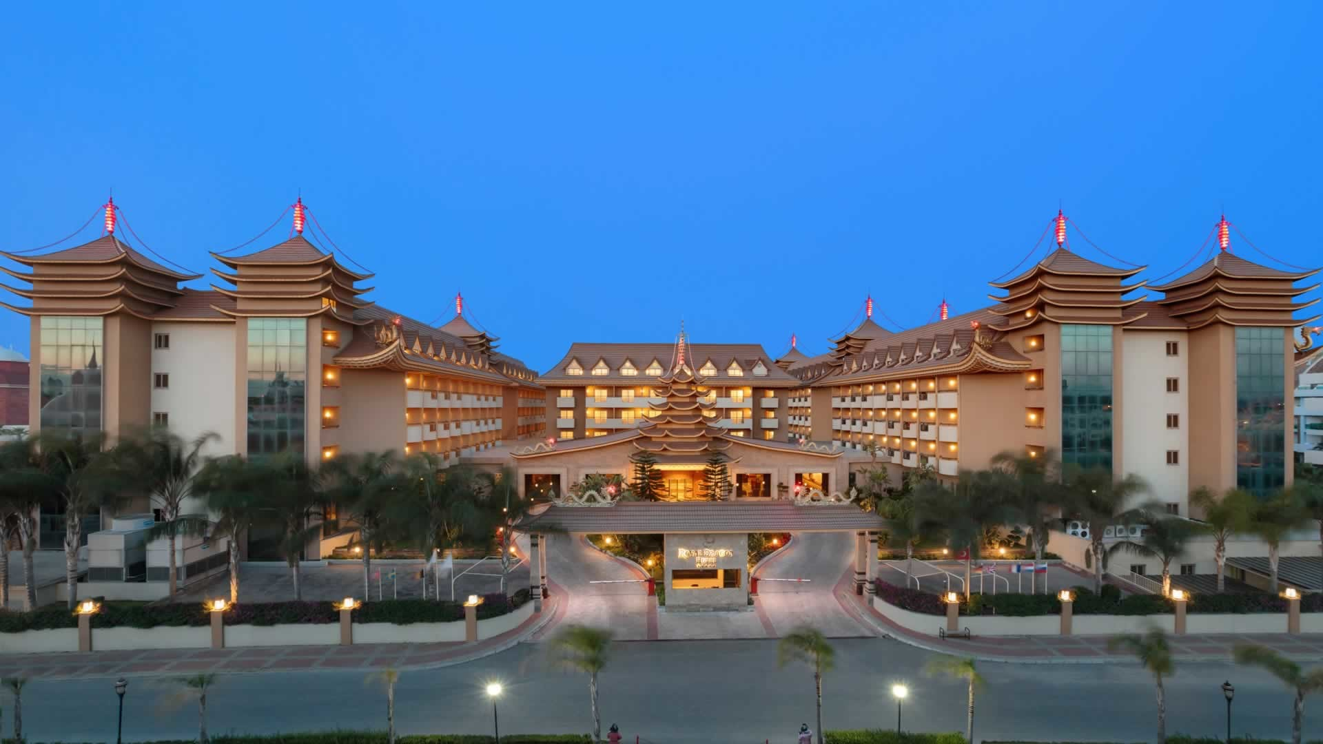 Royal Dragon Hotel - сграда