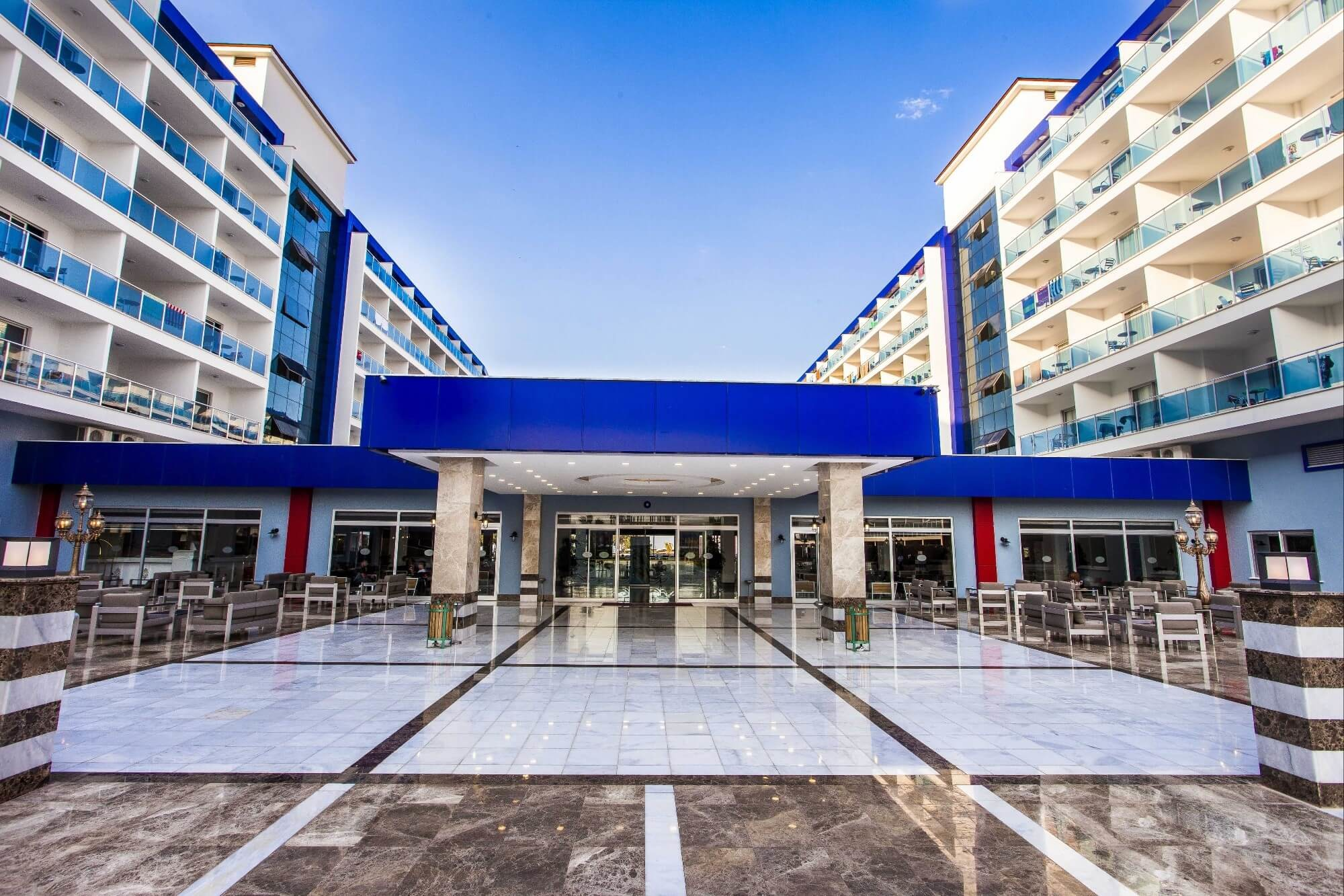 Eftalia Marin Resort - общ изглед