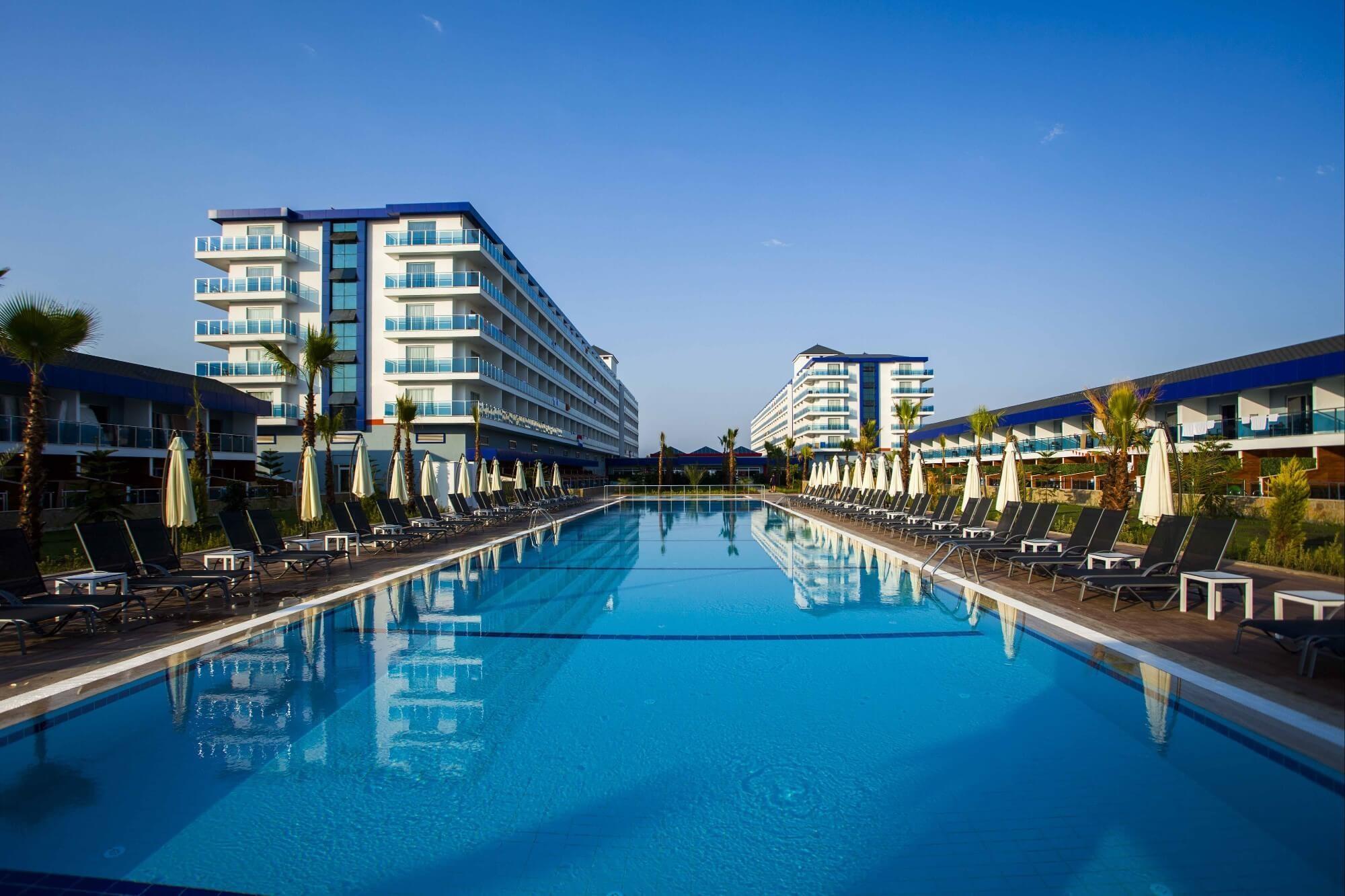 Eftalia Marin Resort - басейн