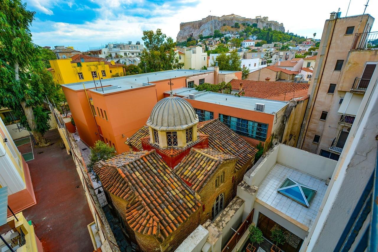 Атина - Център