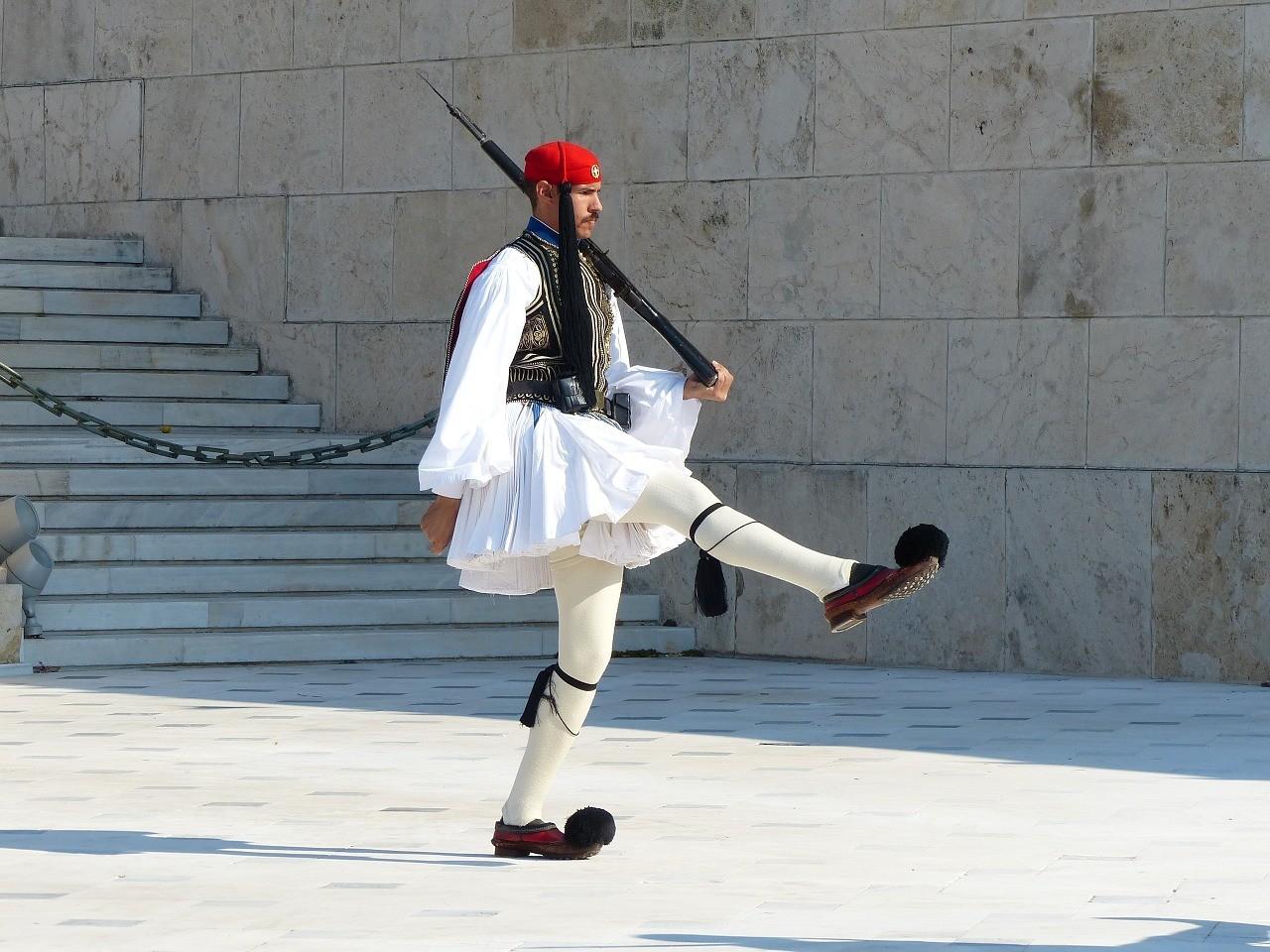 Атина  - смяна на караул