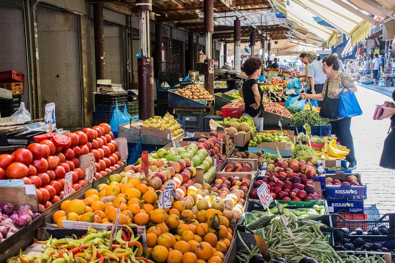 Атина - пазар