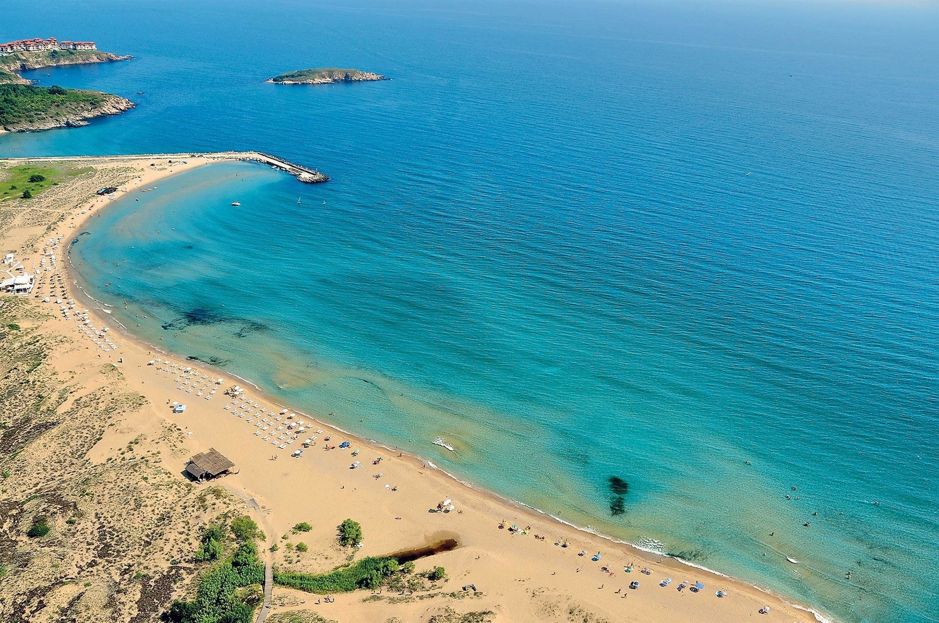 Аркутино Фемили Ризорт - плаж