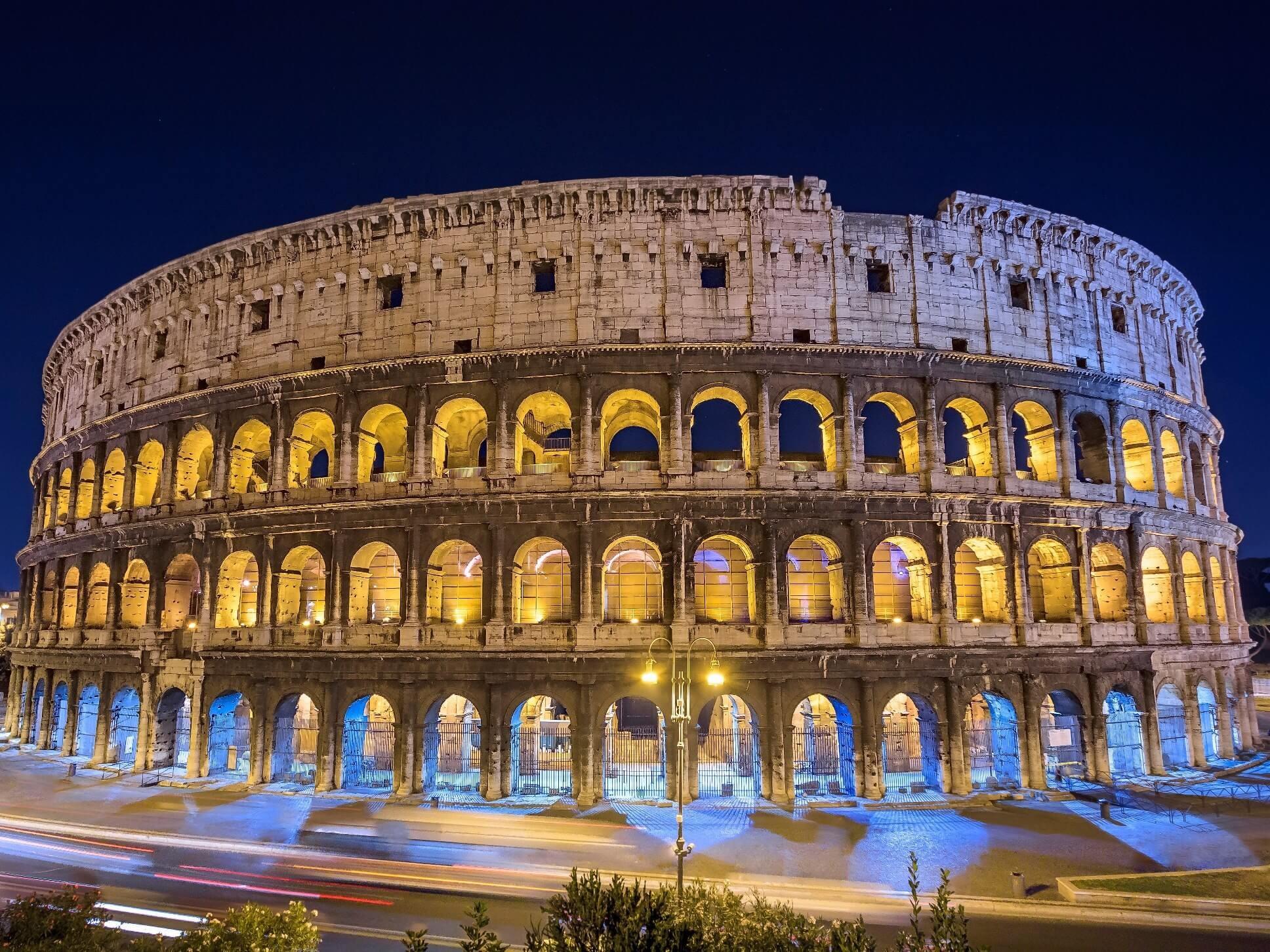 Рим - колизеум