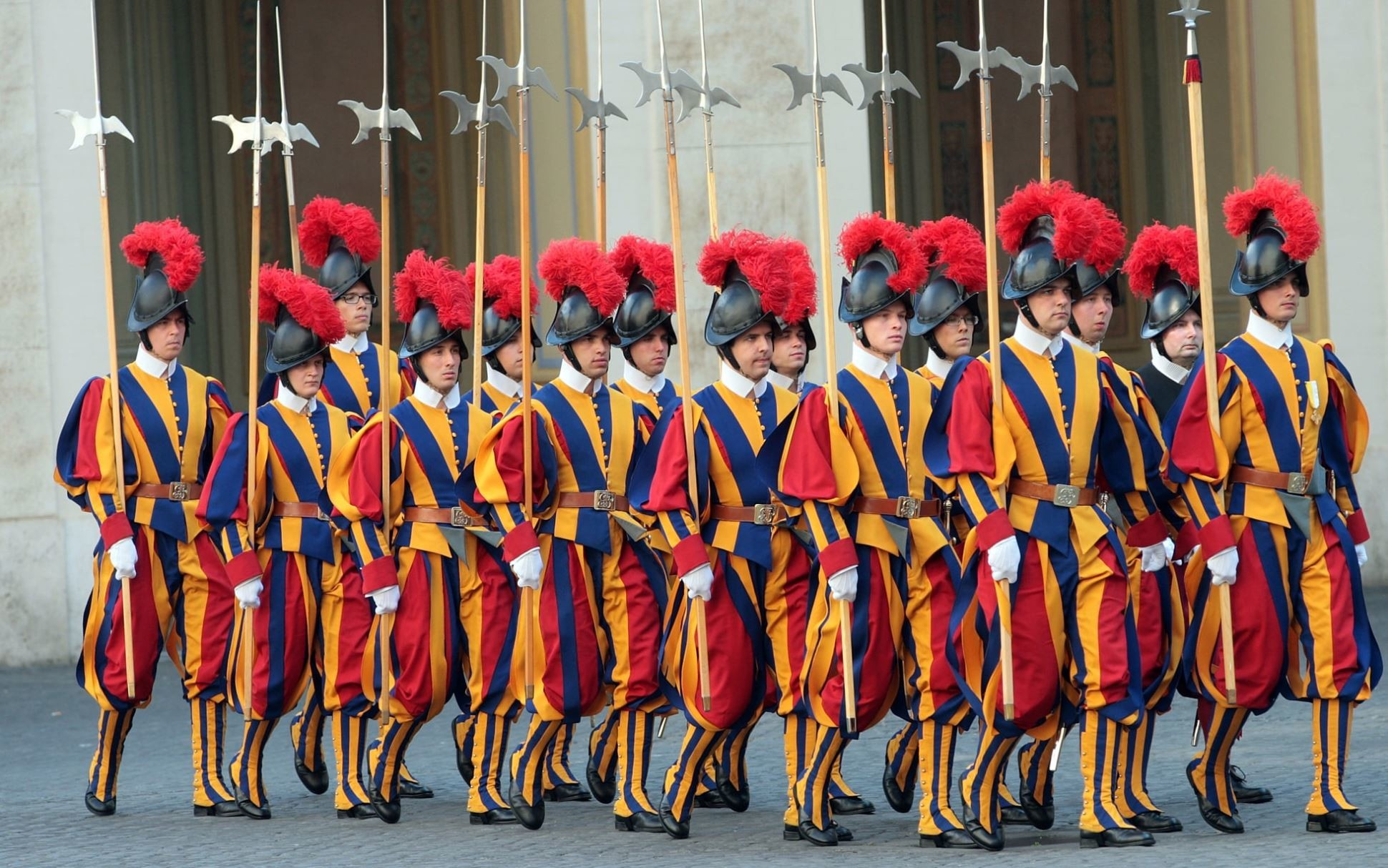 Рим - Ватикана гвардейци