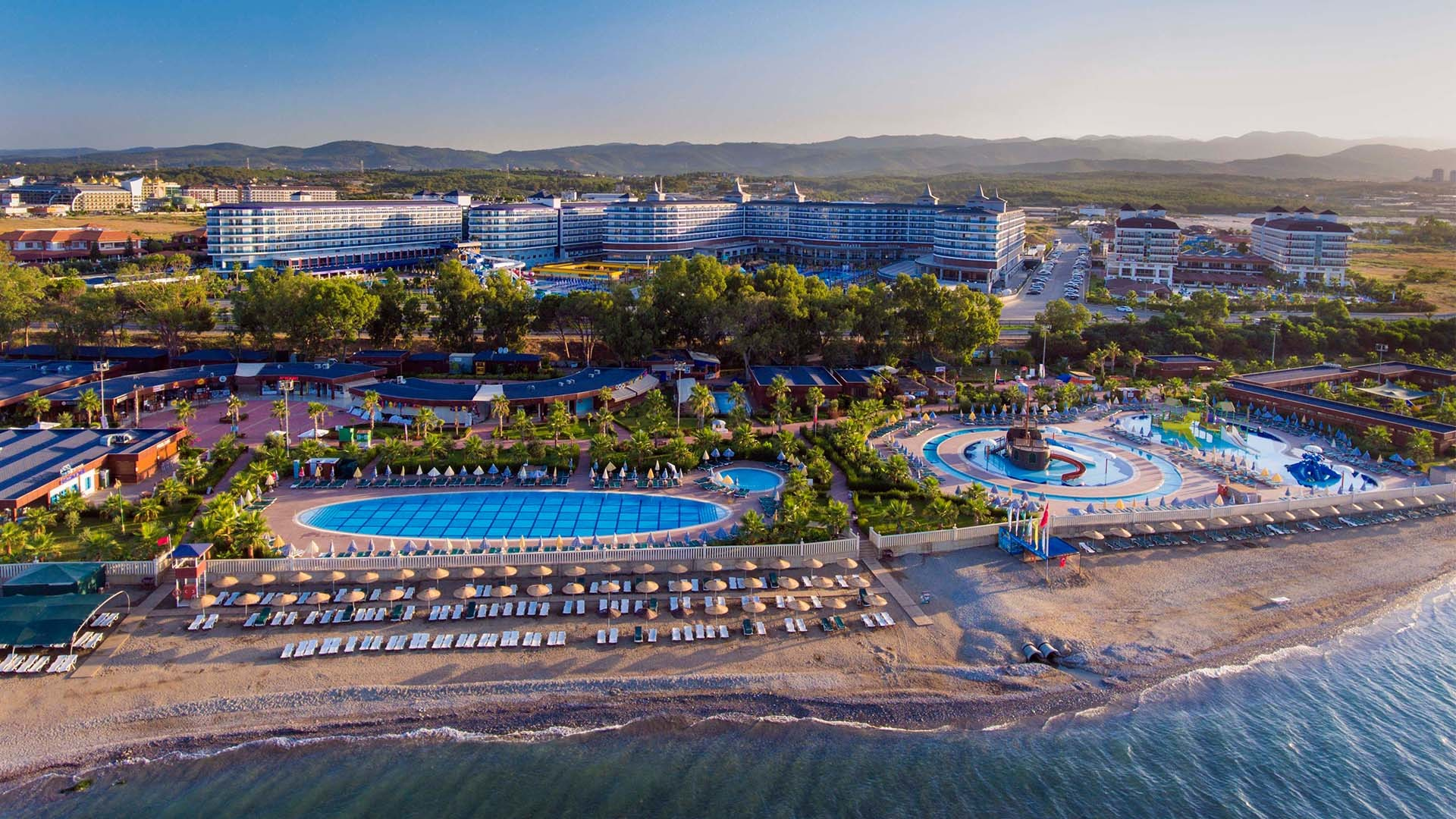 Eftalia Ocean Resort and SPA - плаж