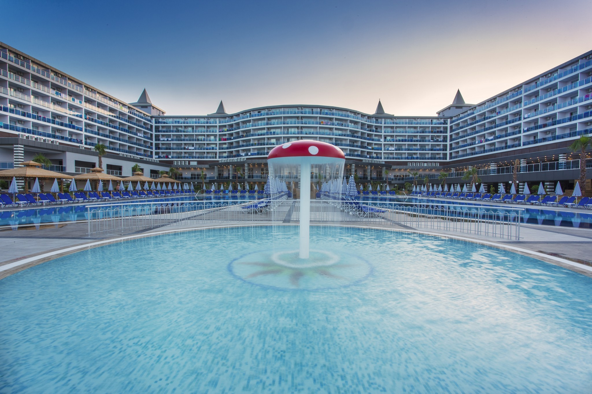 Eftalia Ocean Resort and SPA - общ изглед