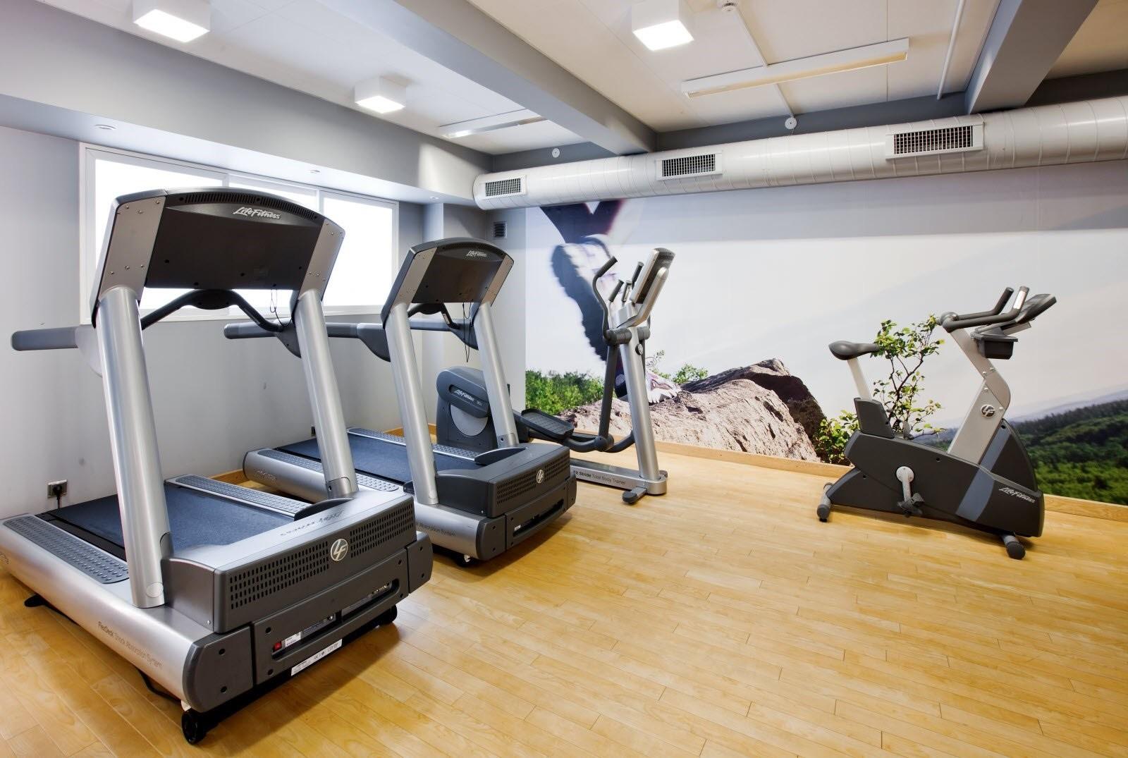 Akrathos Hotel - фитнес
