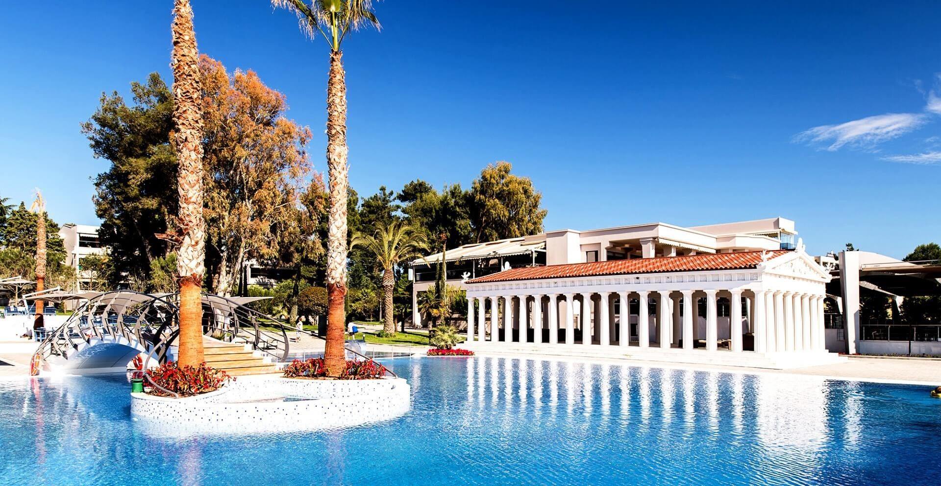 Potidea Palace - басейн