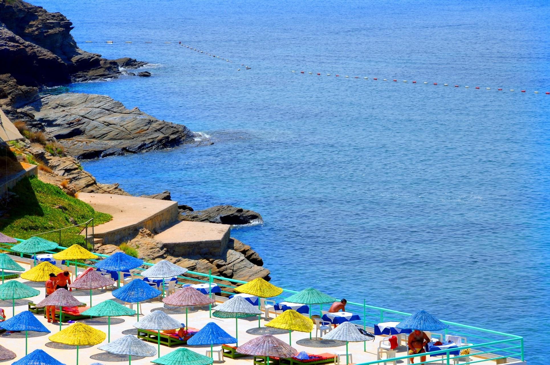 Club Hotel Grand Efe - плаж