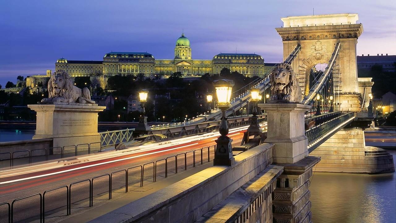 Будапеща - мост над Дунав