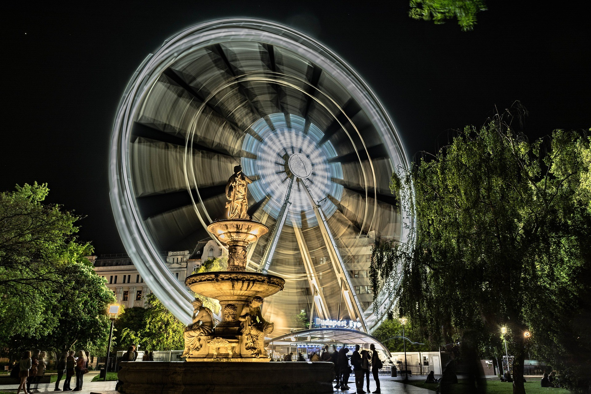 Будапеща - вечер