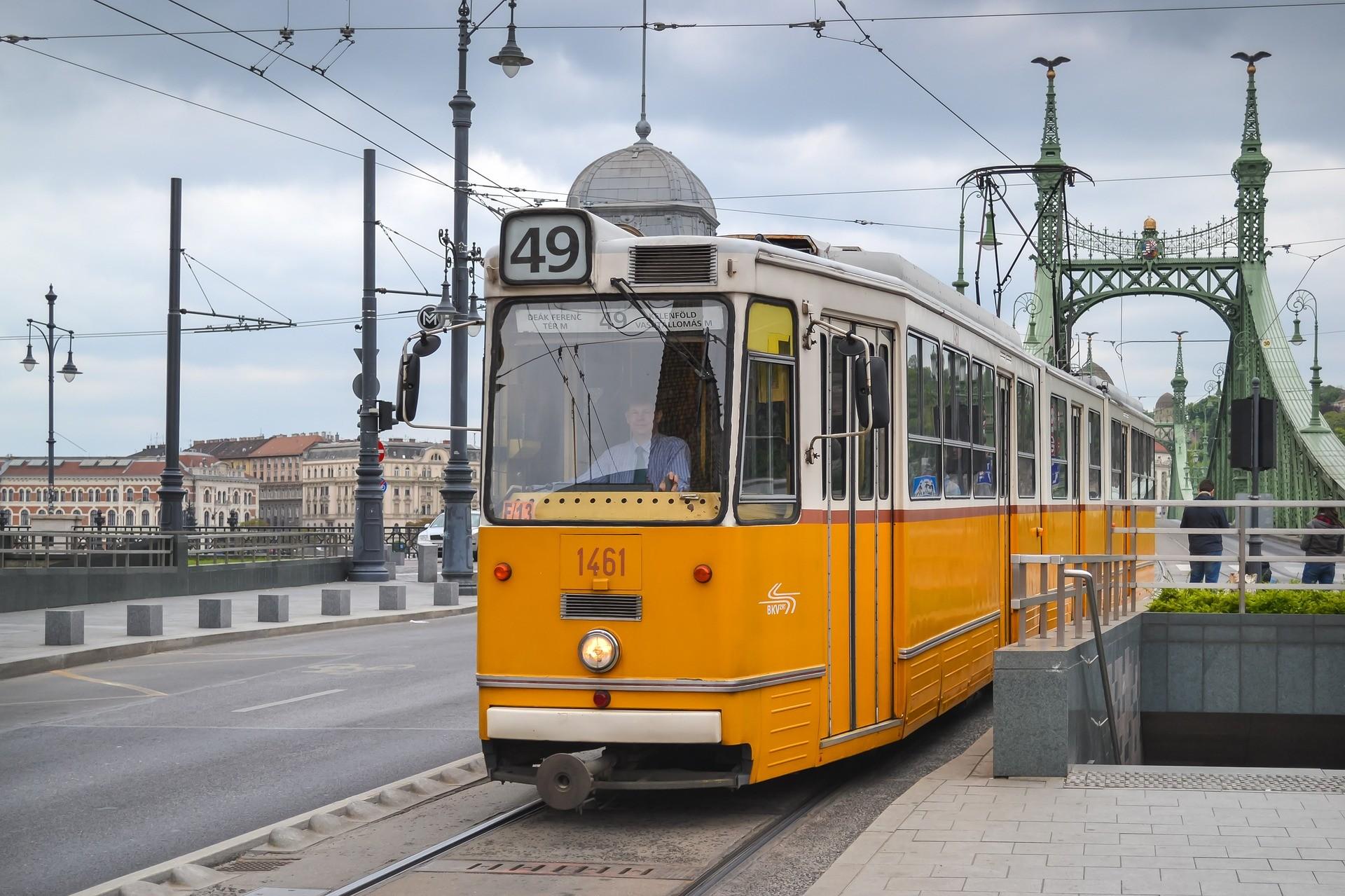 Будапеща - трамвай