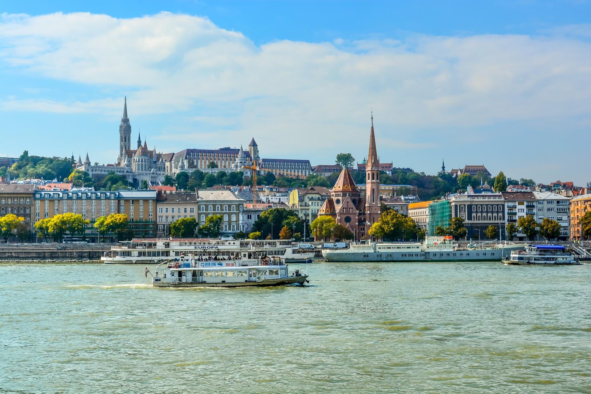 Будапеща - корабче по Дунав