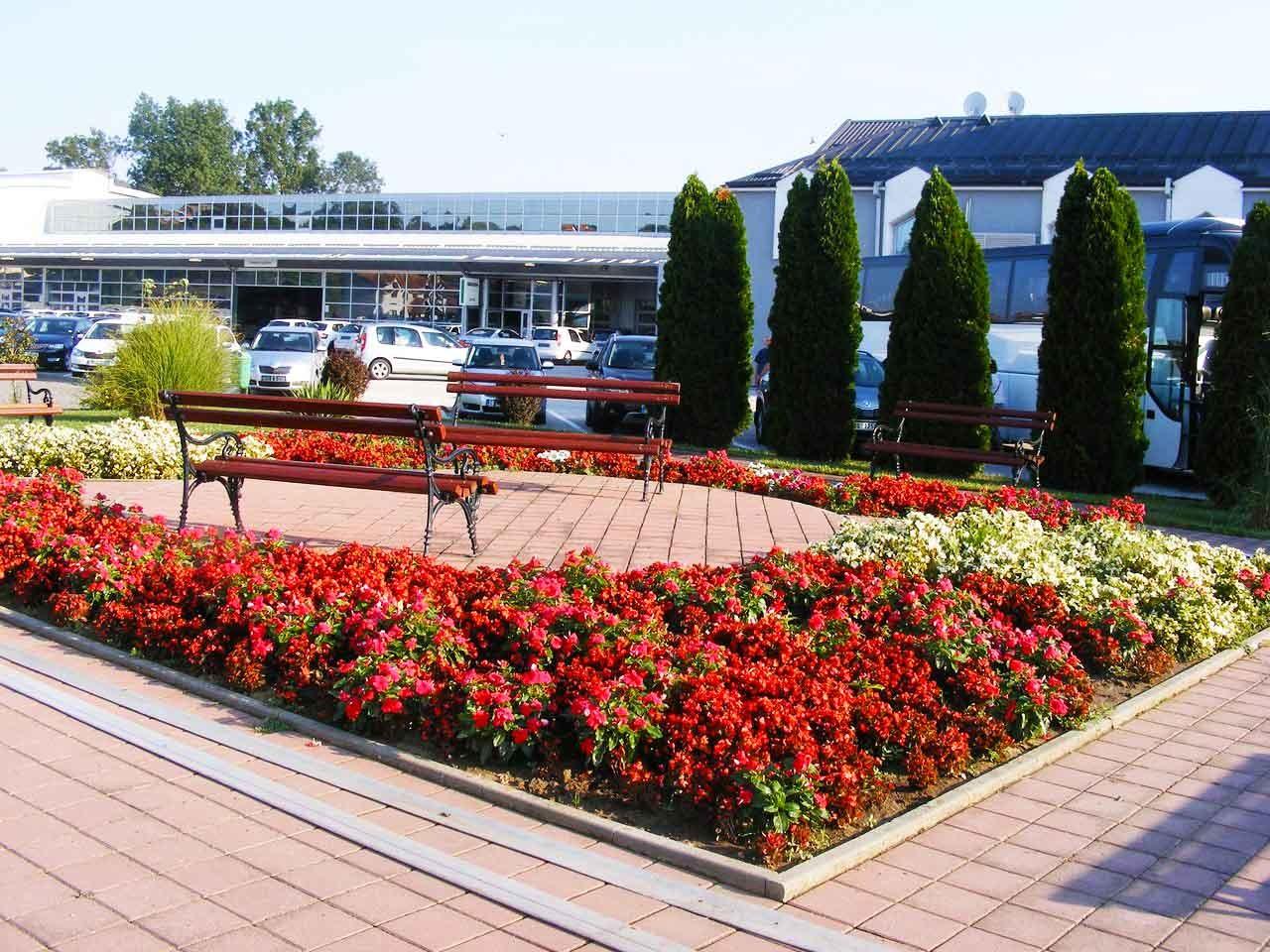 Hotel Kole - Чачак - градина