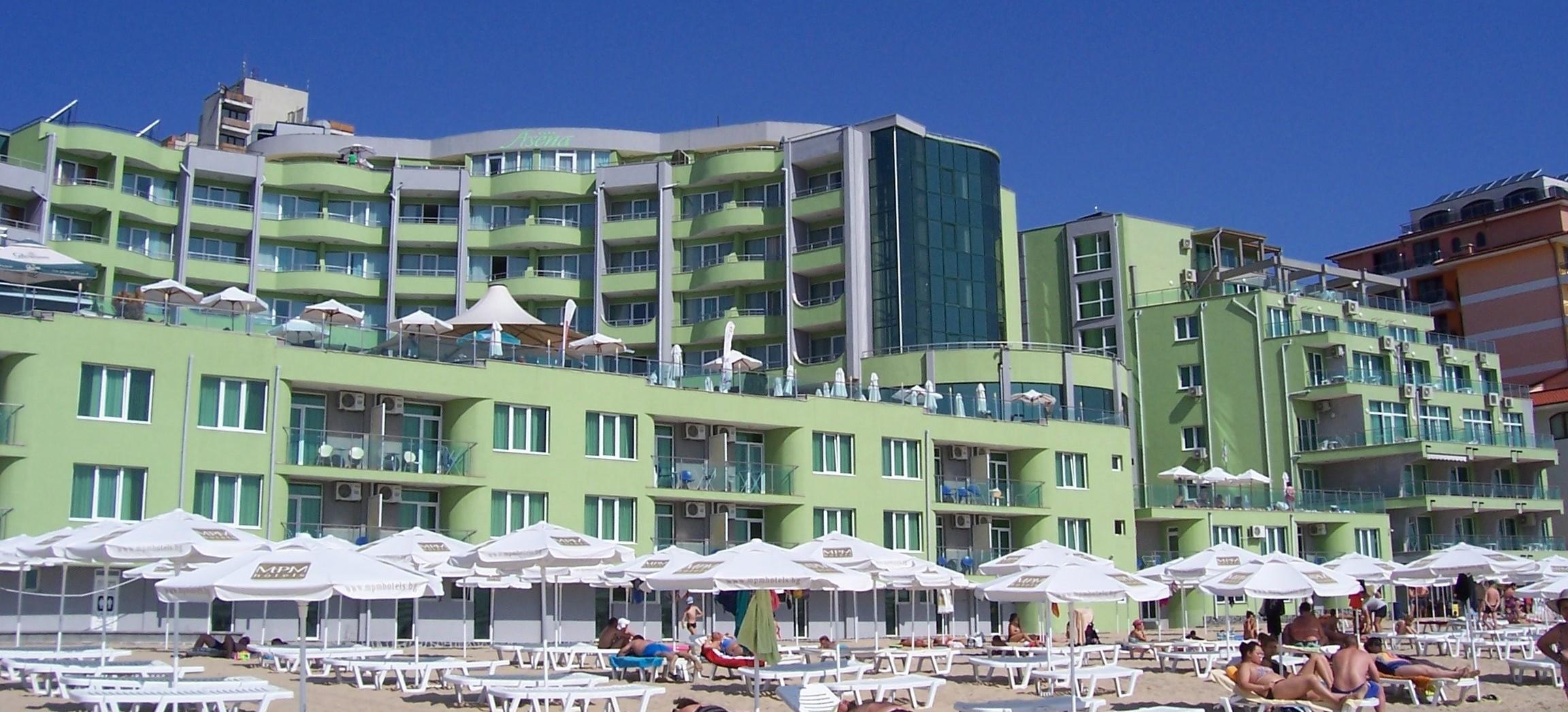 Хотел Арсена - общ изглед