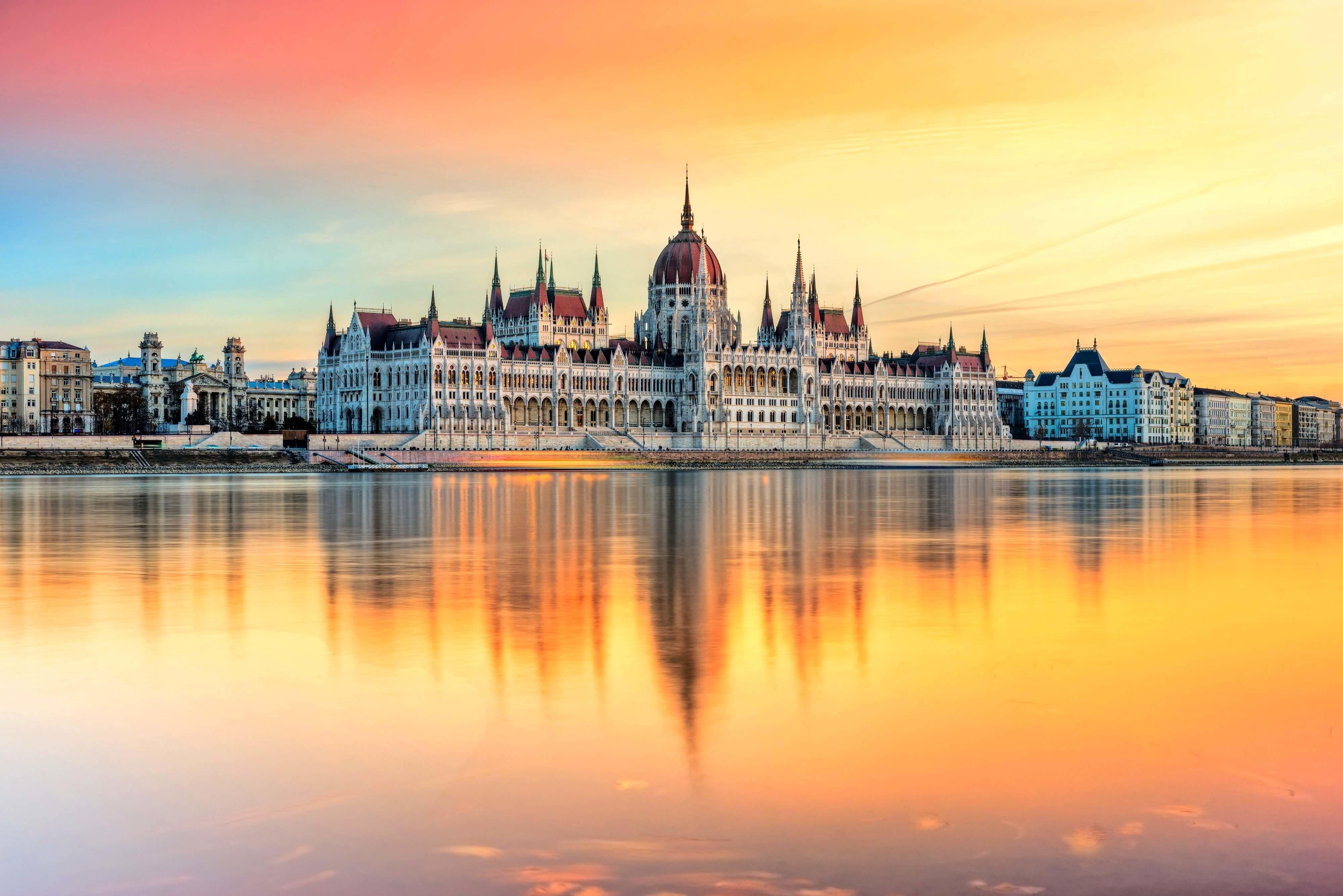 Будапеща - парламент