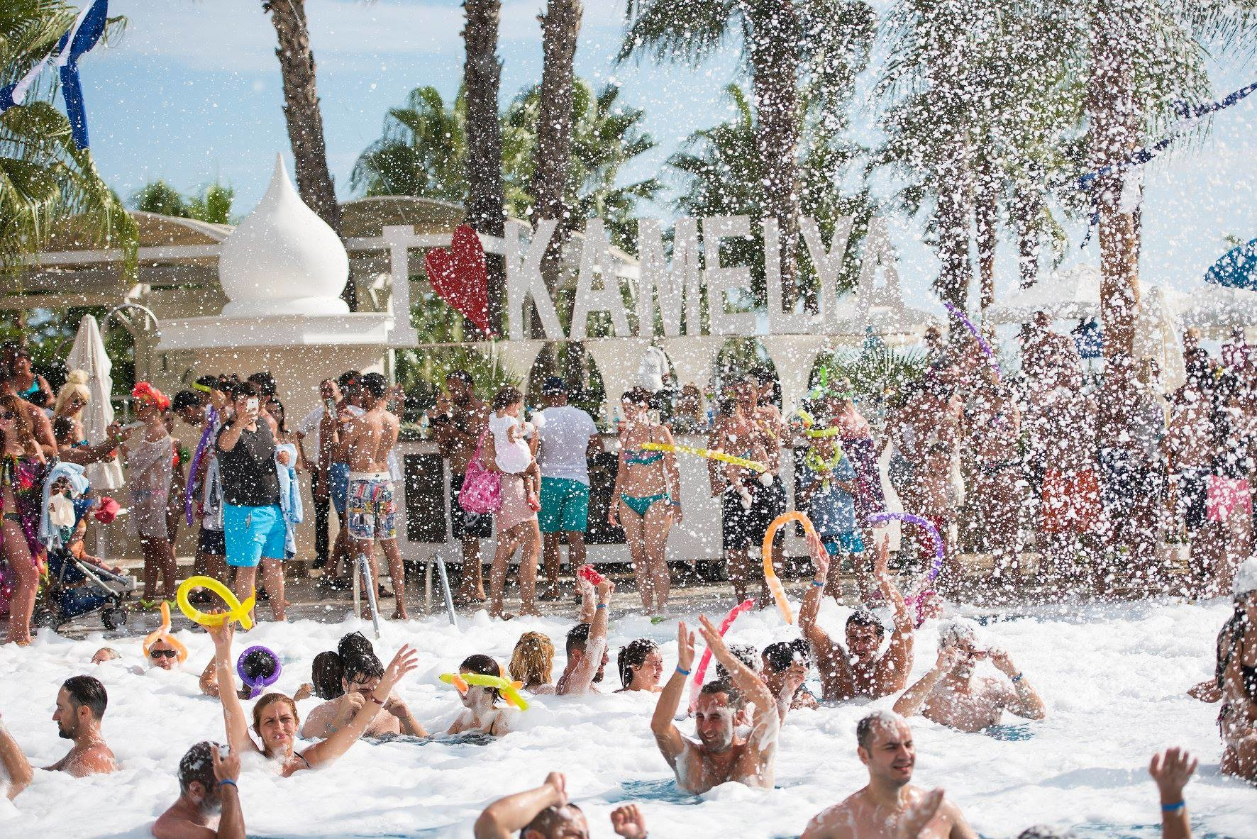 Kamelya Collection K Club - pool party