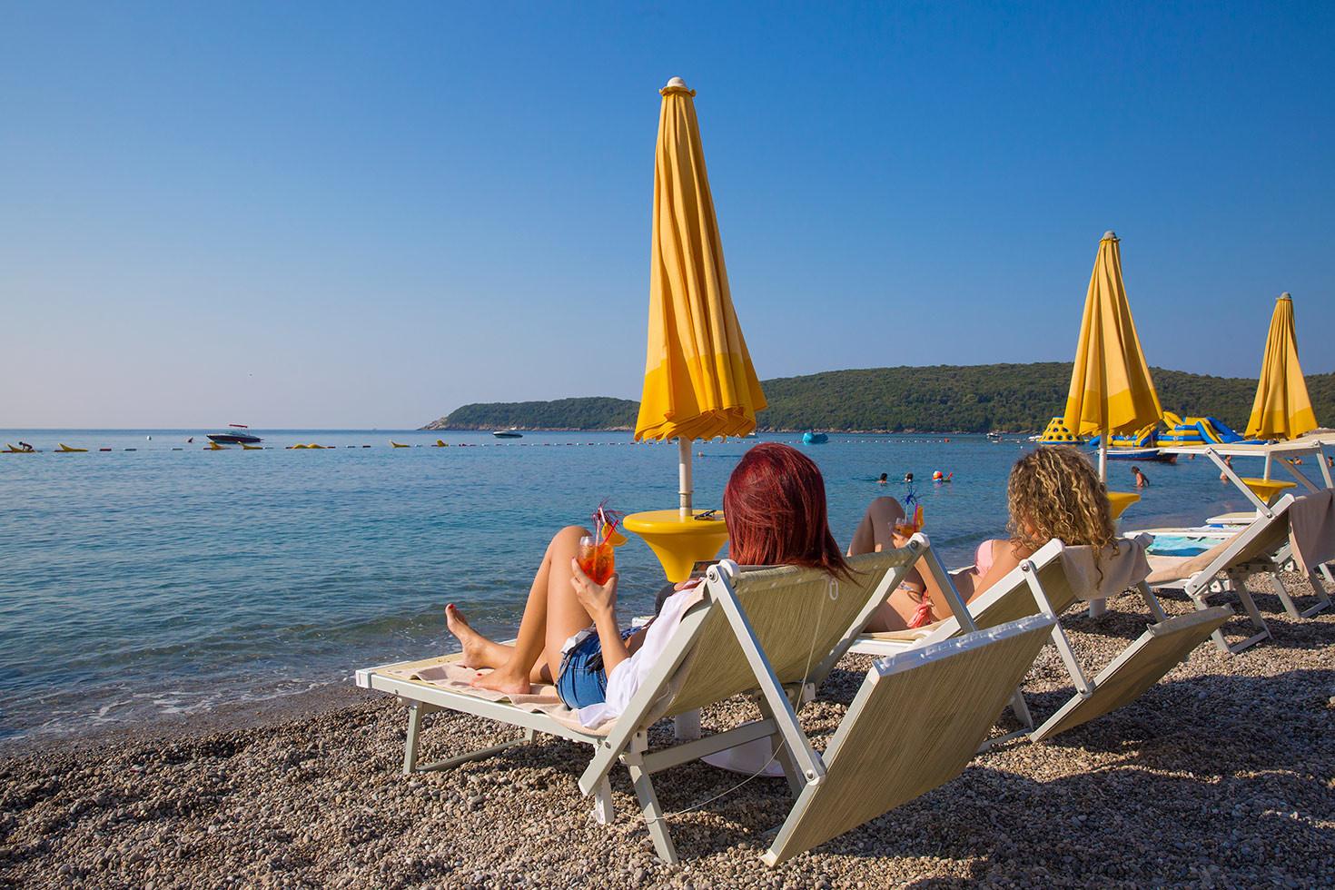 Общ изглед на плажа JAZ