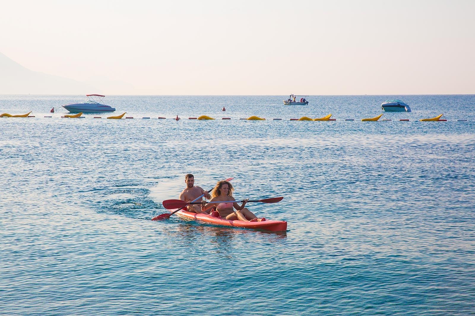 Poseidon Beach - спорт