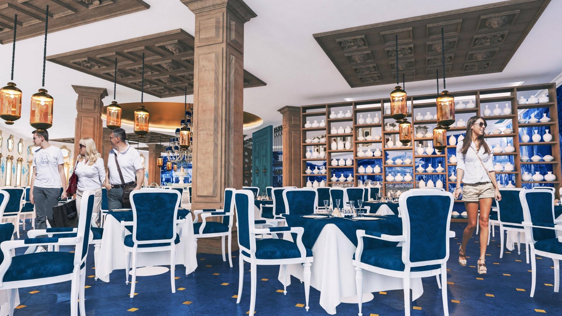 Granada Luxury Belek - расторант