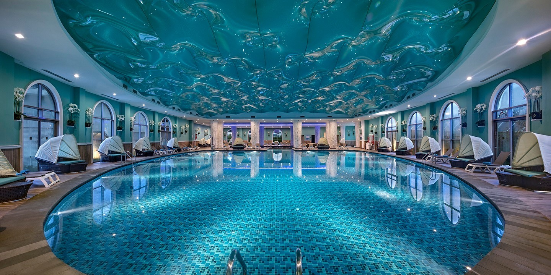 Granada Luxury Belek - вътрешен басейн