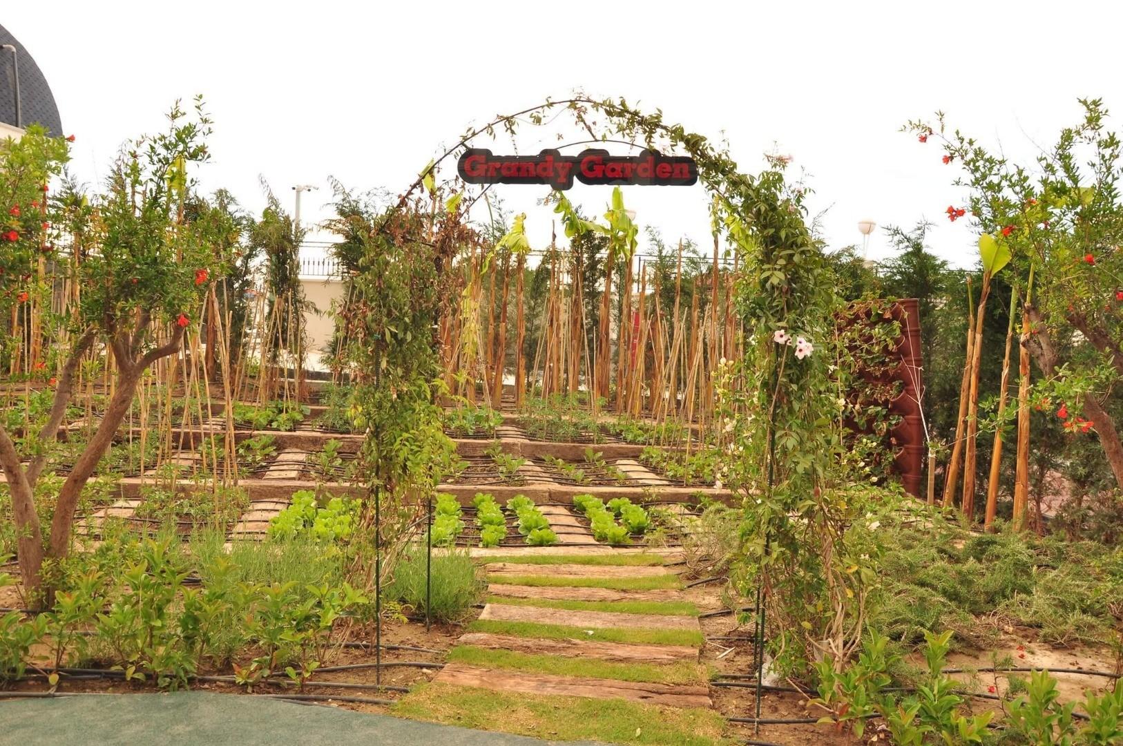 Granada Luxury Belek - градина