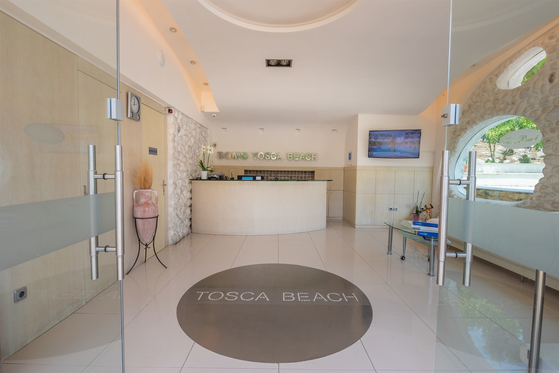Tosca Beach Bungalows 4* рецепция