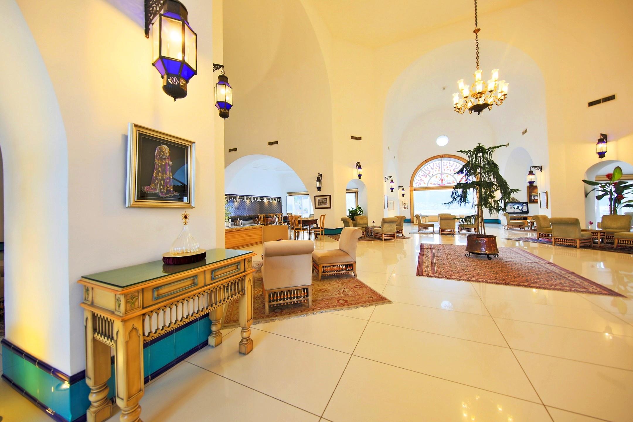 Salmakis Resort - рецепция