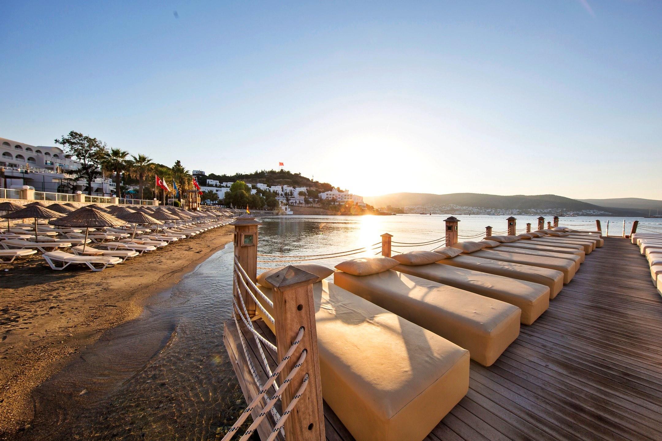 Salmakis Resort - плаж