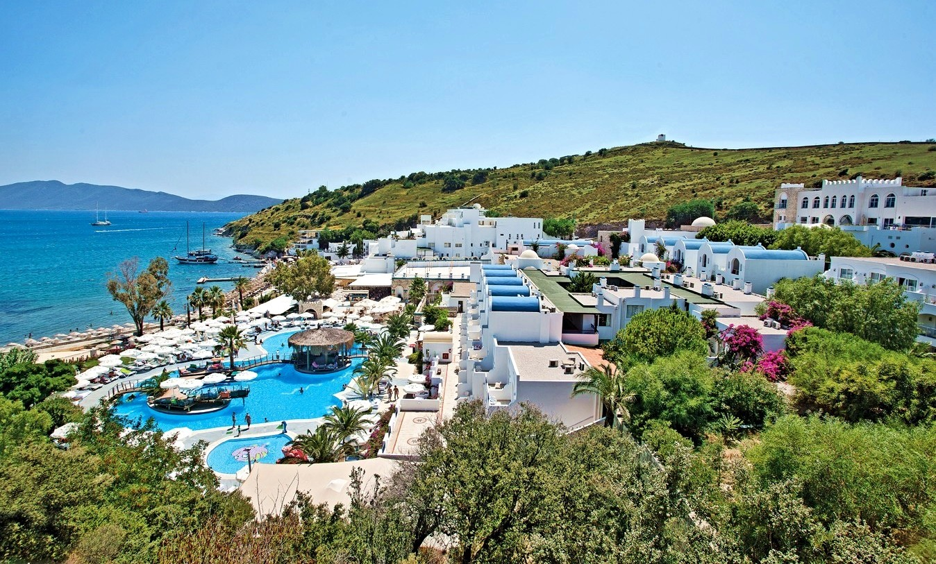 Salmakis Resort - общ изглед