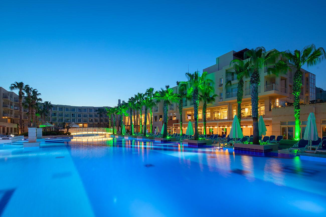 La Blanche Resort & Spa - вечерна