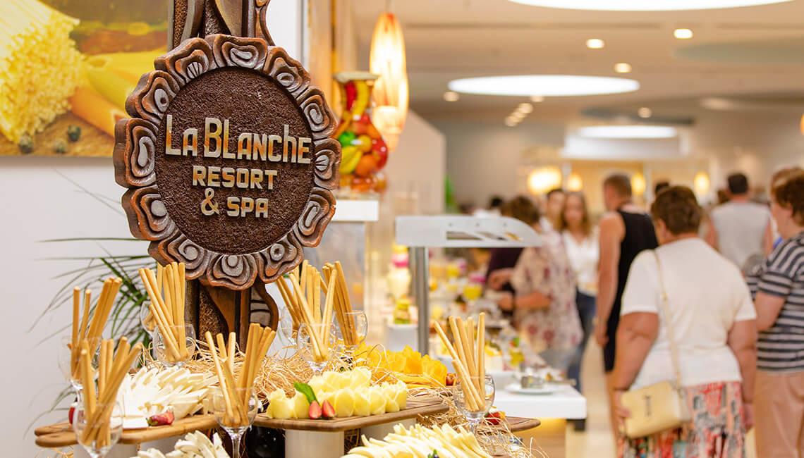 La Blanchе - бюфет