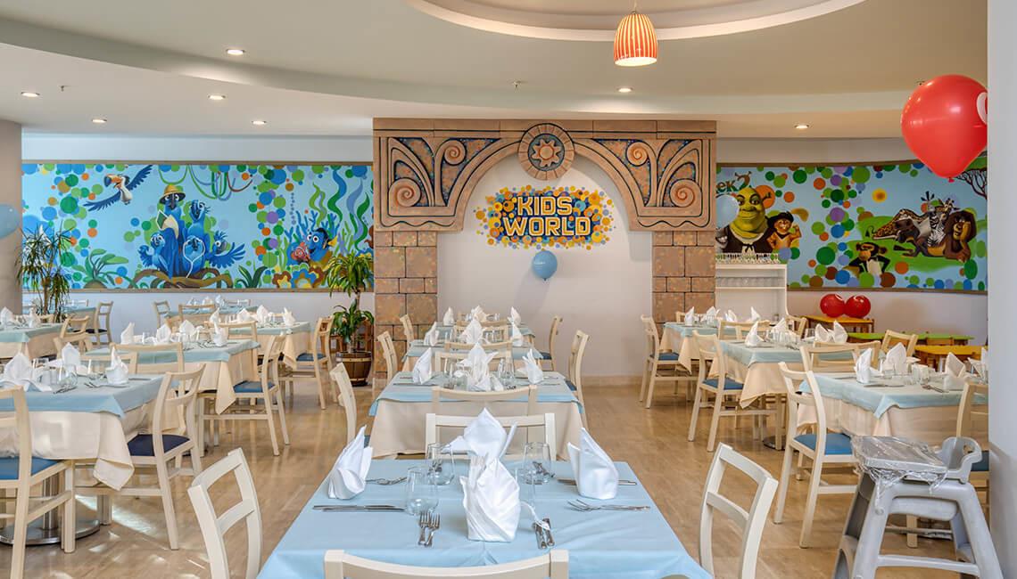 La Blanche - ресторант детска част