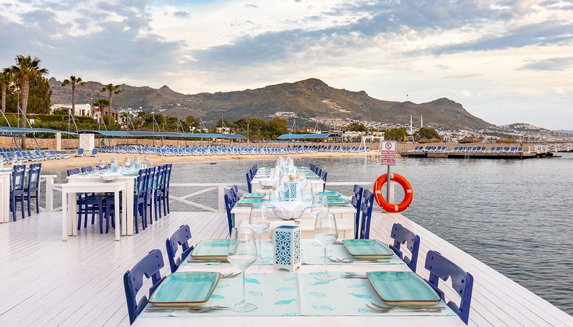 La Blanche Resort & Spa - ресторант кей