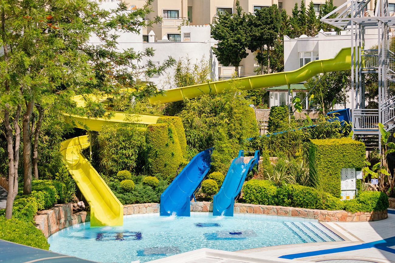 La Blanche Resort & Spa - пързалка
