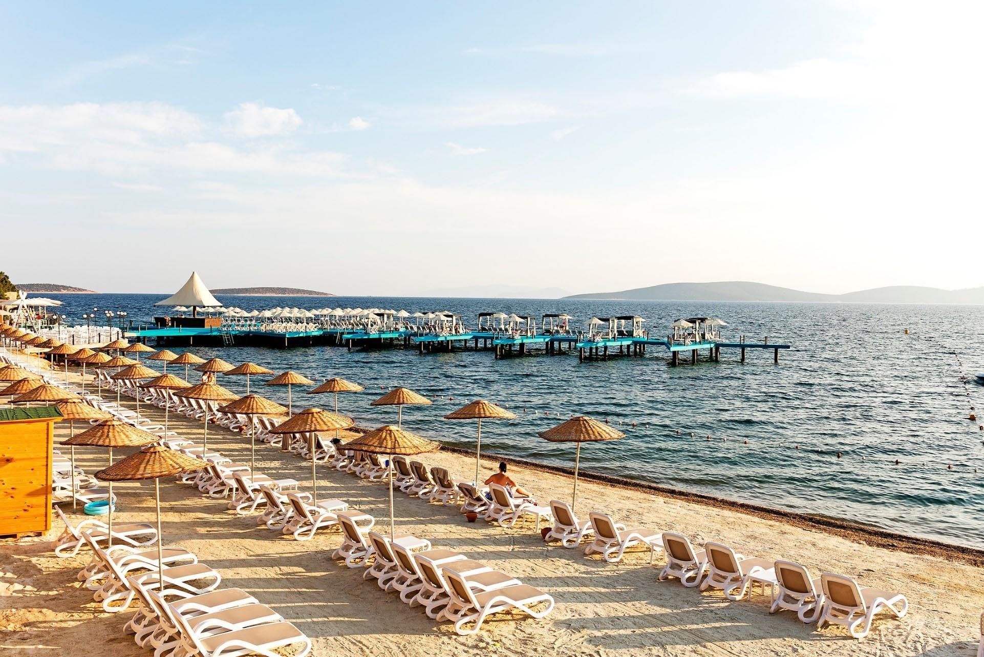 Duja Bodrum - плаж