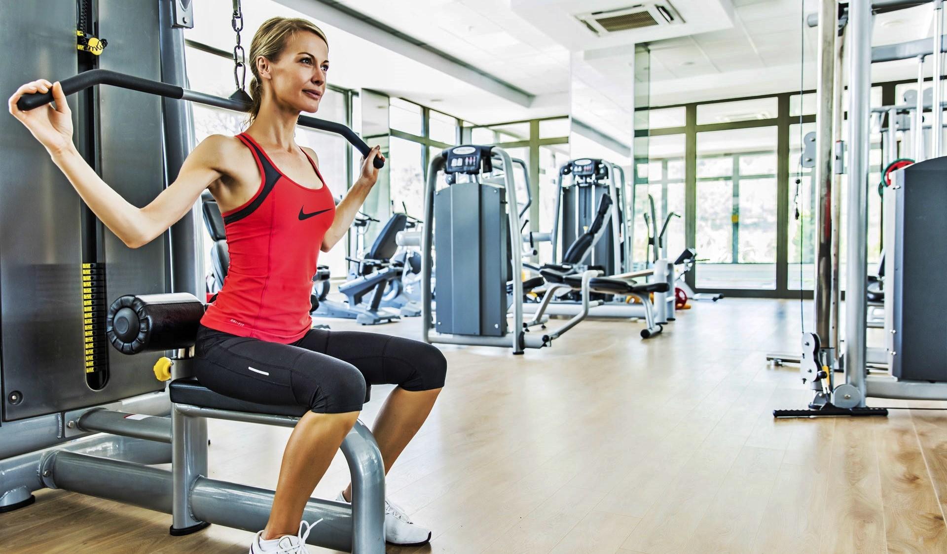 Amara Sealight Hotel - фитнес