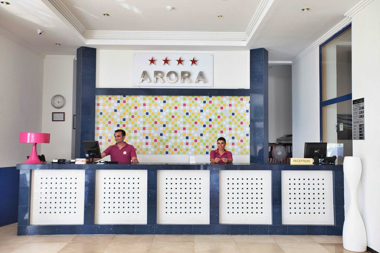 Hotel Arora 4* - рецепция