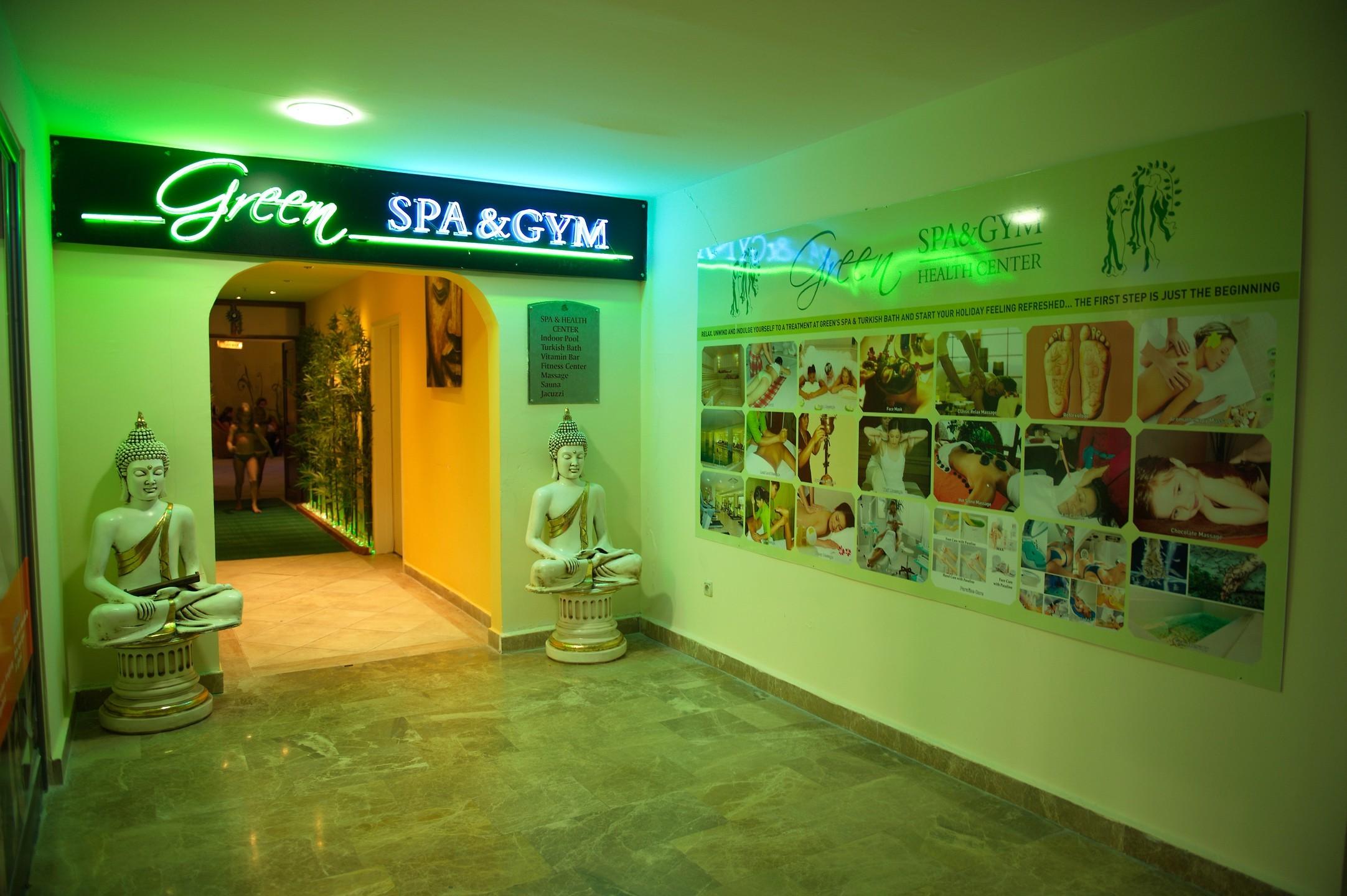 green nature resort - спа