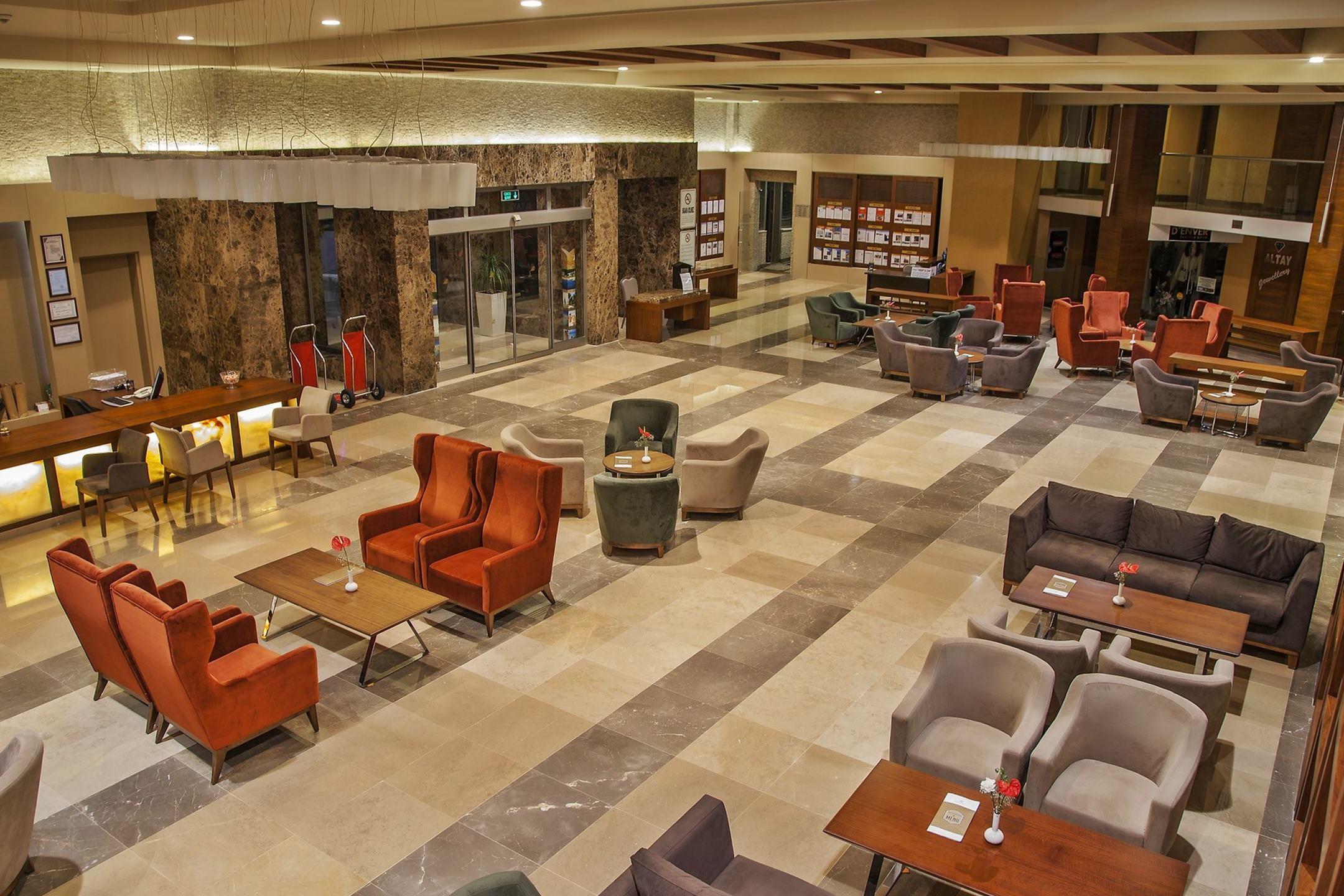 Arcanus Side Resort - лоби