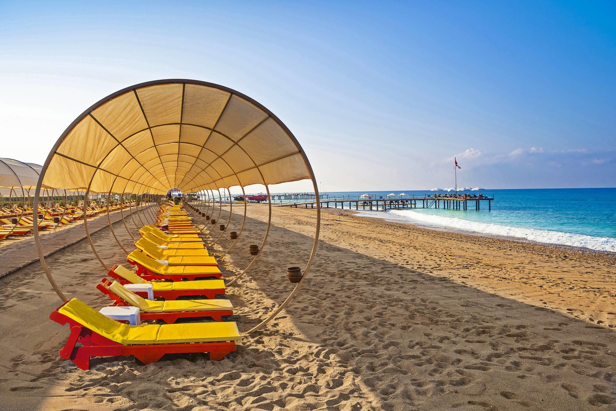 Club Turan Prince World - плаж