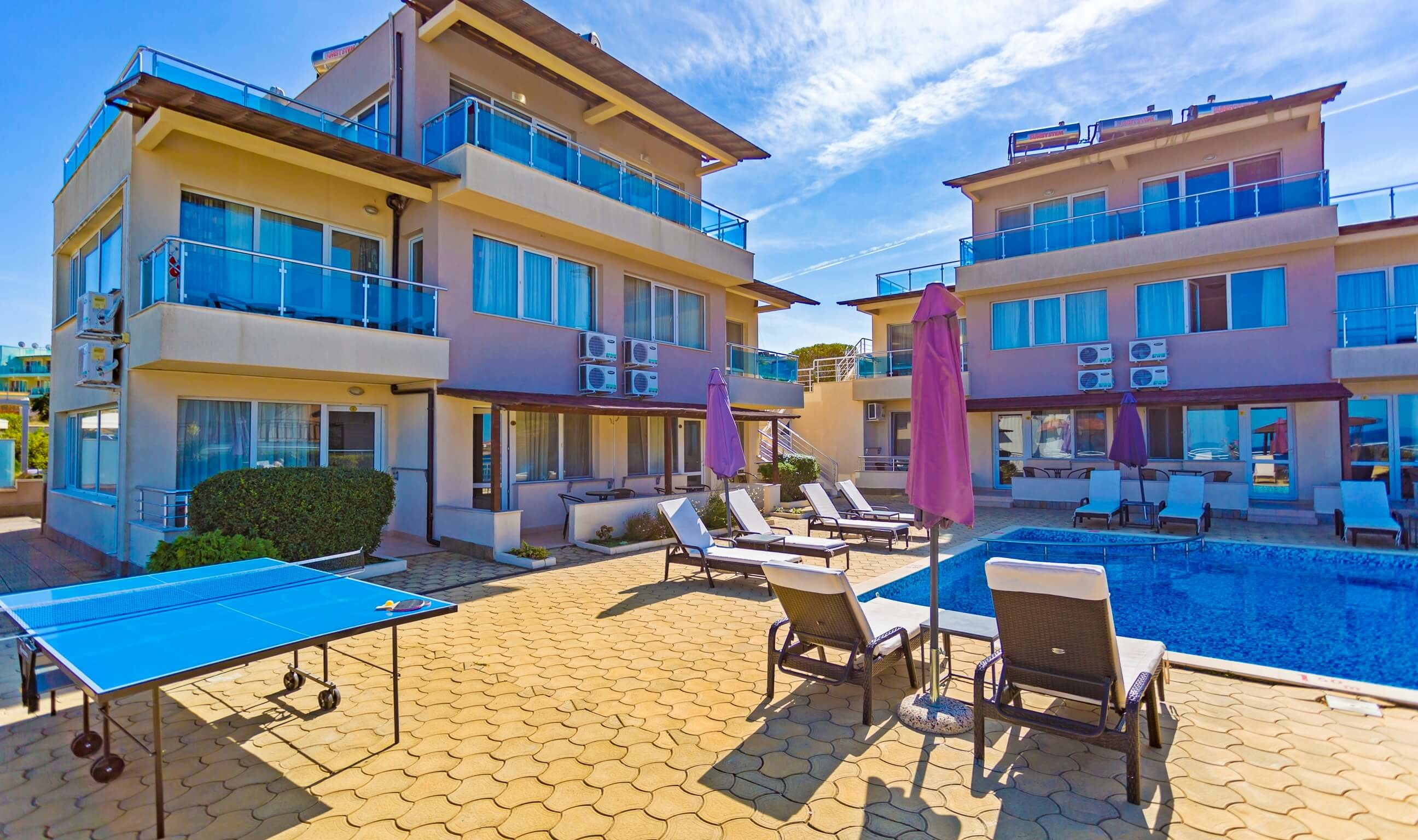 Хотел Селена Бийч 3*  - басейн