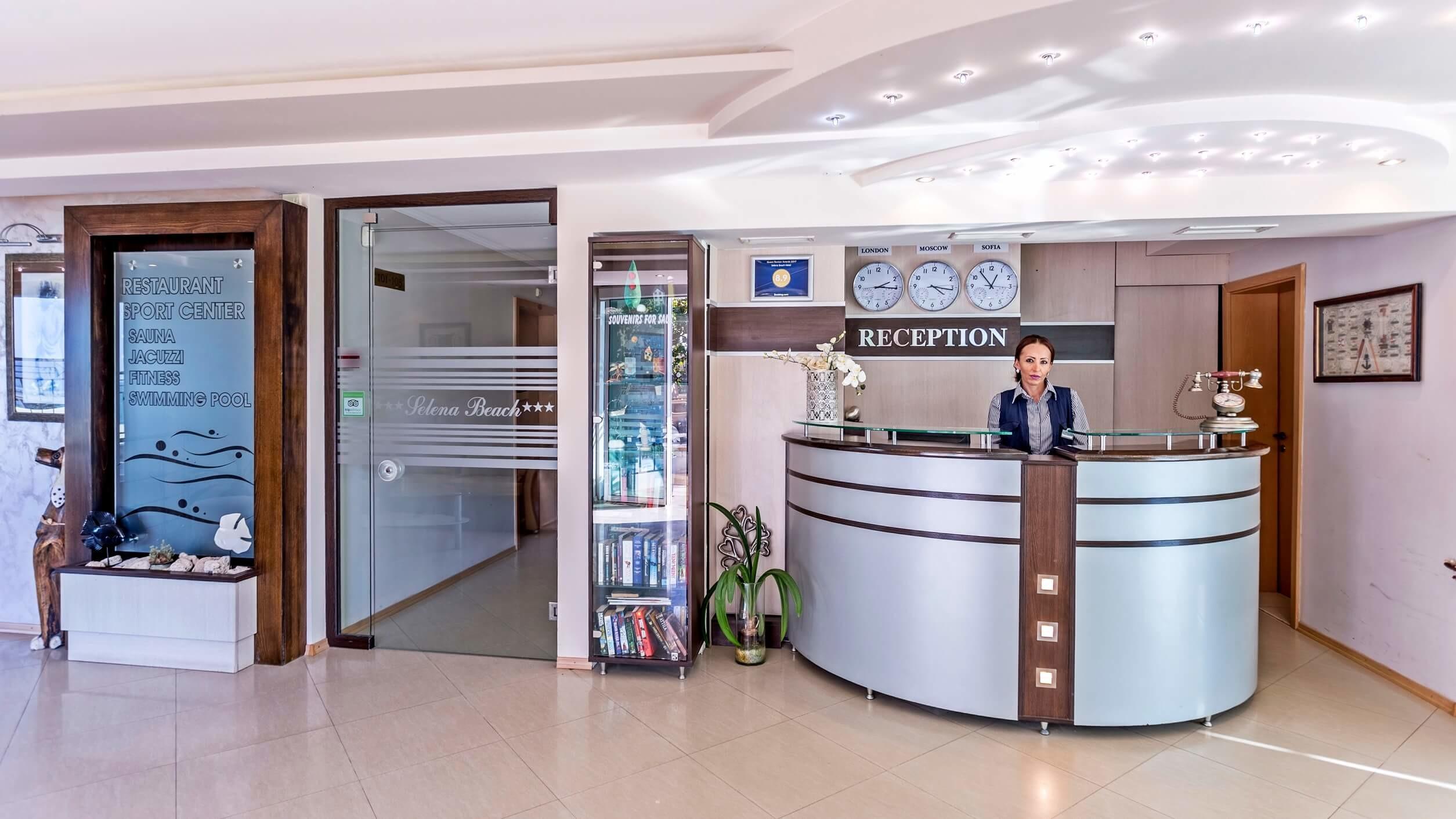 Хотел Селена Бийч 3* - рецепция