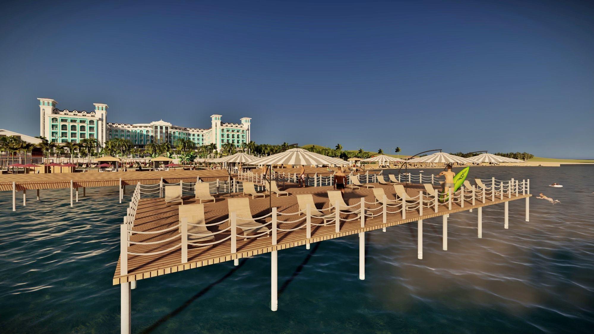 Maxeria Blue Didyma - плаж, платформа