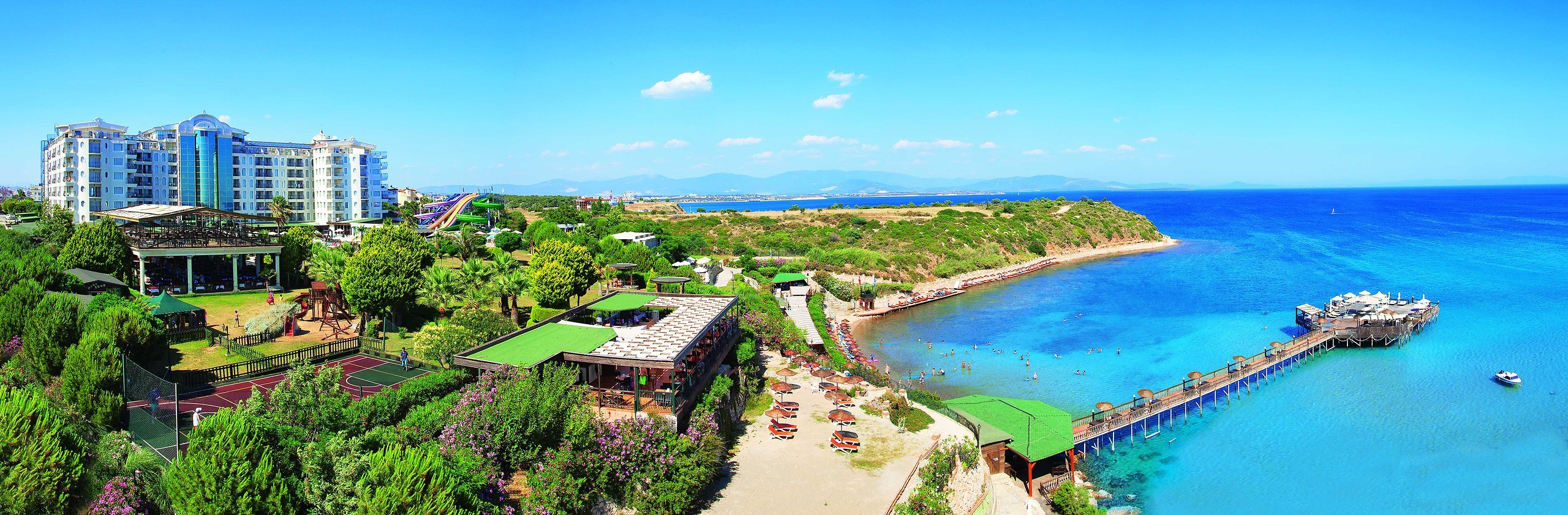 Didim Beach Resort&SPA - панорама