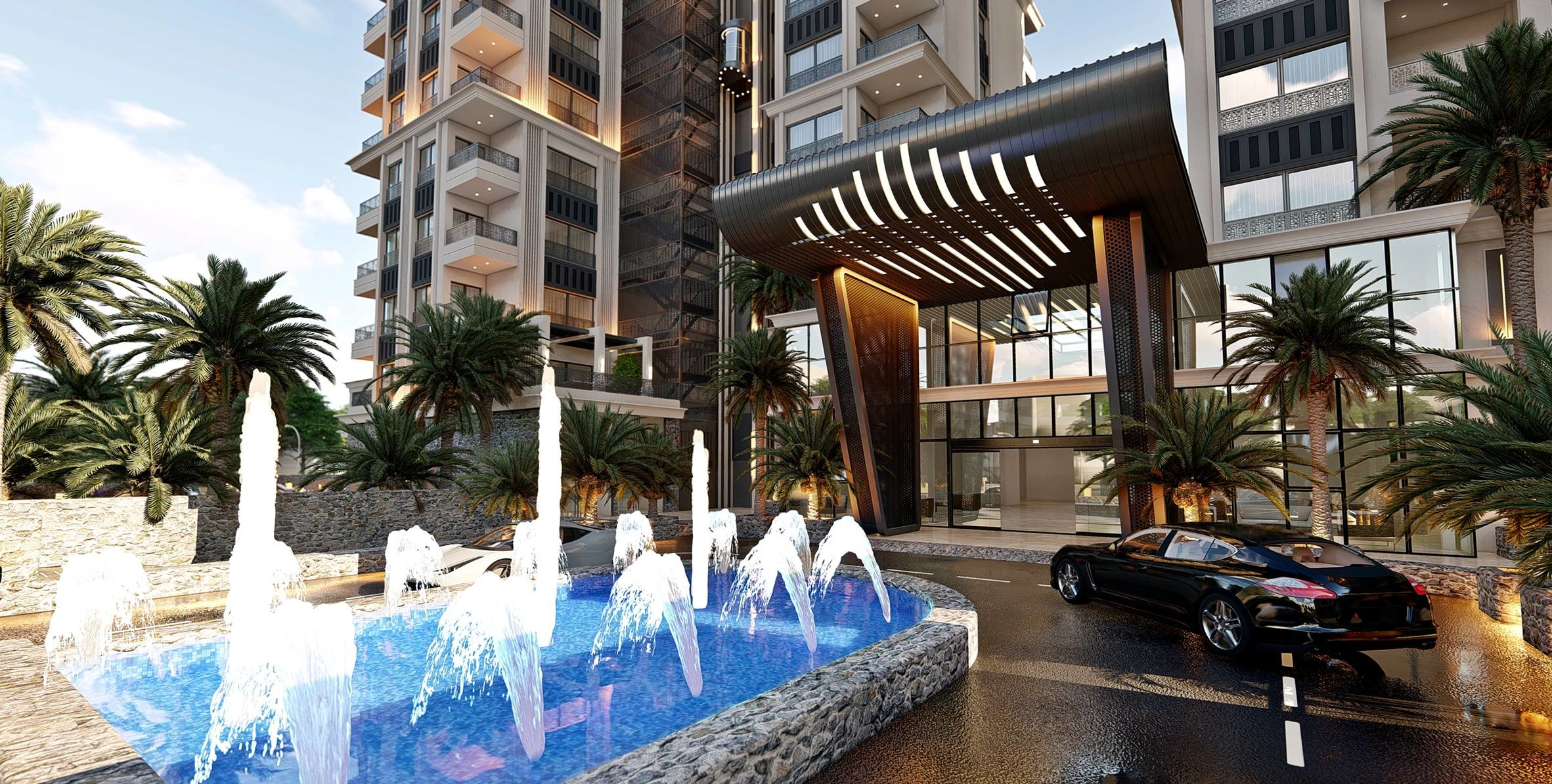 Maril Resort - вход