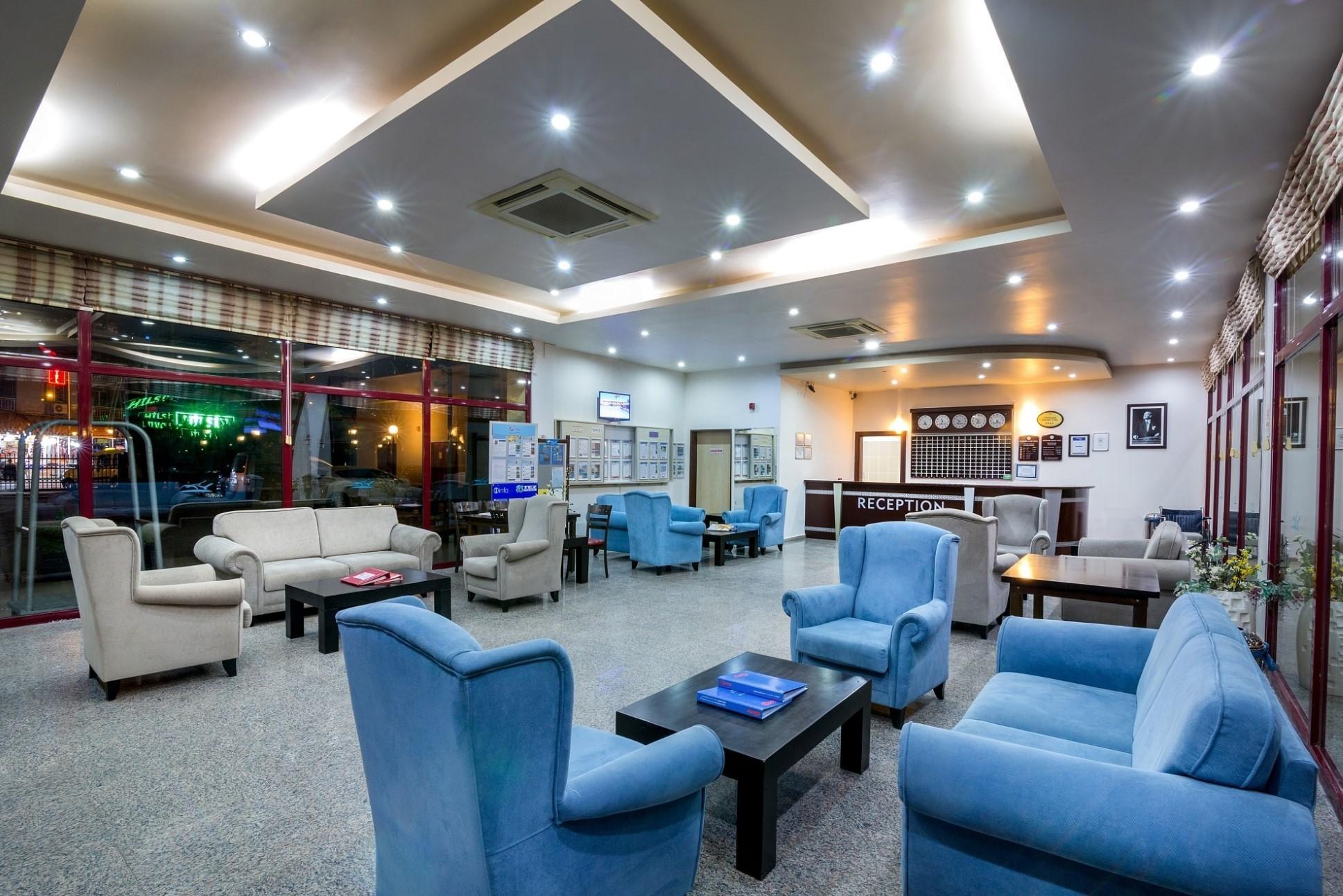 Gumuldur Resort Hotel - рецепция