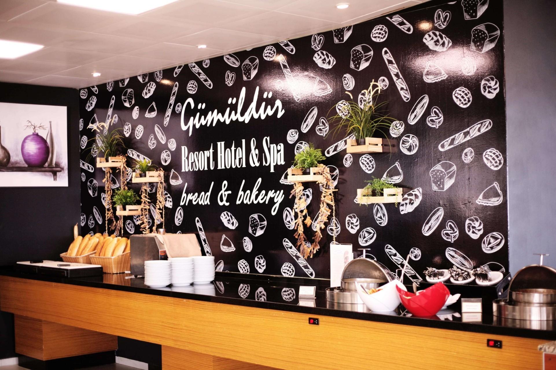 Gumuldur Resort Hotel - щанд за хляб